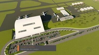 Caxias do Sul e Canela buscam recursos para construção de novos aeroportos - Objetivo é facilitar o tráfego de visitantes e o transporte de cargas.