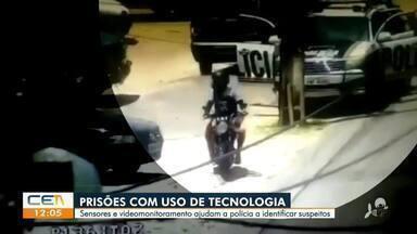 Prisões com uso de sensores e videomonitoramento - Saiba mais no g1.com.br/ce