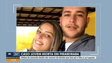 Defesa de acusado de matar a jovem Gabriella confirma que celulares foram destruídos - Defesa de Leonardo, acusado de matar a jovem Gabriella, confirma que celulares foram destruídos