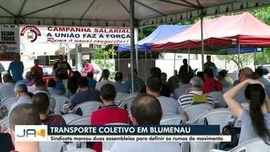 Sindicato marca duas assembleias para definir os rumos do transporte coletivo de Blumenau - Sindicato marca duas assembleias para definir os rumos do transporte coletivo de Blumenau