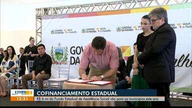 Seis milhões de reais para assistência social na Paraíba - Dinheiro será repassado pelo Governo do Estado para alguns municípios.