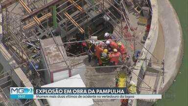 Morrem vítimas de explosão na Lagoa da Pampulha, em BH - Morrem vítimas de explosão na Lagoa da Pampulha, em BH