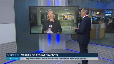 CCJ nega mudanças na lei que define reembolso para deputados - Uma das mudanças propostas definia que não se pagasse mais gastos com alimentação dos parlamentares em Curitiba, cidade onde trabalham e moram.