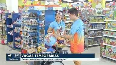 Decreto estabelece regras para contratações de vagas temporárias - Em Mato Grosso do Sul.
