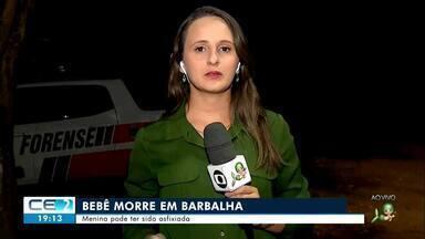 Criança pode ter morrido por asfixia em Barbalha - Confira mais notícias em g1.globo.com/ce
