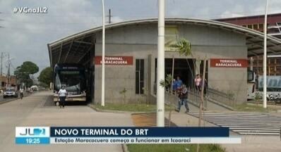 Estação Maracacuera do BRT começa a funcionar cheia de problemas em Belém - A estação faz parte do sistema BRT no distrito de Icoaraci.
