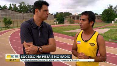 Papo de atleta: paratleta é sucesso na pista e no rádio - Marcos Santos dá show.