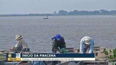 Começa o período da proibição da pesca nos rios de MS - Começa o período da proibição da pesca nos rios de MS