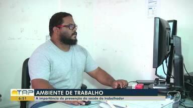 Saiba como melhorar seu desempenho no trabalho prevenindo lesões musculares - Em Santarém, o Cerest cuida da saúde do trabalhador; veja.