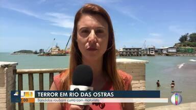 Bandidos roubam carro em Rio das Ostras e se envolvem em acidente - Acidente foi em Casimiro de Abreu.