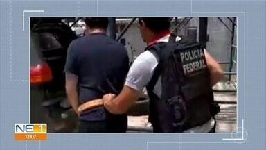 Suspeito de participar de assalto no Aeroporto de Viracopos, em SP, é preso em Caruaru - Prisão dele e de outro homem foi feita pela Polícia Federal.