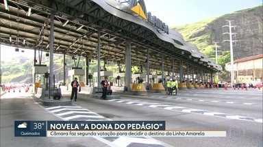 """Veja novo capítulo da novela """"A Dona do Pedágio"""" - Vereadores decidem destino da Linha Amarela em nova votação."""