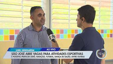 São José dos Campos abre 1,8 mil vagas para prática de atividades esportivas - As inscrições podem ser feitas pelo aplicativo da prefeitura.