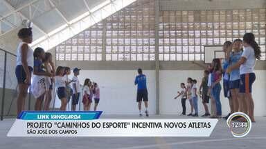 Projeto em São José incentiva novos atletas - Ação da Guarda Municipal acontece na escola do Pinheirinho dos Palmares.