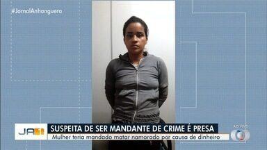 Polícia prende mulher suspeita de planejar morte de homem, na Cidade Ocidental - As investigações apontaram que ela teria encomendado a morte dele por causa de dinheiro.