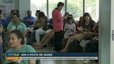 Secretário de Saúde de Cascavel explica onde moradores devem procurar atendimento - As Upas continuam com longas filas de espera.