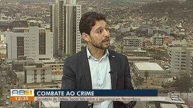 Comandante do 4º Batalhão da Polícia Militar fala sobre índices de violência em Caruaru - Santa Rosa é um dos bairros com mais crimes em Caruaru.