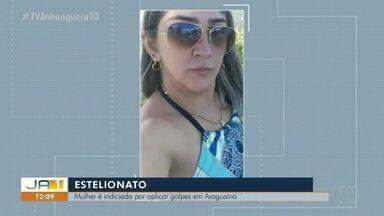 Mulher é indiciada por estelionato e furto contra idoso em Araguaína - Mulher é indiciada por estelionato e furto contra idoso em Araguaína