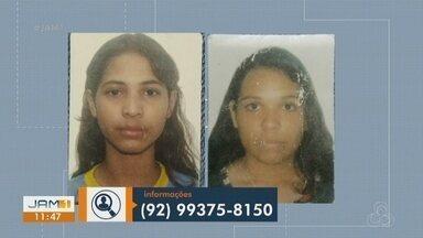 Família procura por duas irmãs que estão desaparecidas desde domingo (3) - Família procura por duas irmãs que estão desaparecidas desde domingo (3).