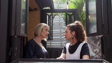 Rita garante que Rui não representa risco para Nina - Ela afirma que Rui não vai desistir de conviver com a filha em hipótese alguma