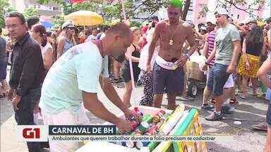 G1 no BDMG: Prefeitura de BH divulga datas para cadastramento de ambulantes para carnaval - Interessados devem procurar o BH Resolve entre os dias 18 e 29 de novembro.