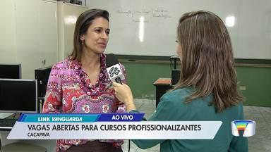 Caçapava tem vagas abertas para cursos profissionalizantes - Veja o vídeo.
