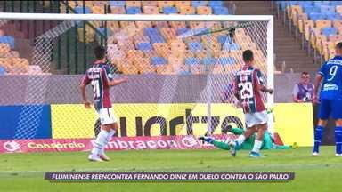 Fluminense reencontra Fernando Diniz no duelo contra o São Paulo - Fluminense reencontra Fernando Diniz no duelo contra o São Paulo