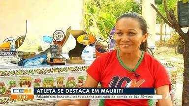 Atleta se destaca em Mauriti e sonha participar da corrida de São Silvestre - Saiba mais no g1.com.br/ce