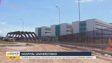 Hospital Universitário do Amapá deve abrir em 2020 com todas as especialidades previstas - TCU acompanha obra.