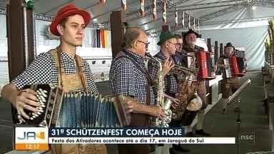 Schützenfest começa nesta quinta (7) em Jaraguá do Sul - Schützenfest começa nesta quinta (7) em Jaraguá do Sul
