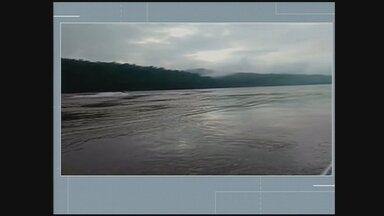 Embarcação vira no Rio Uruguai em região do RS e jovem desaparece - Embarcação vira no Rio Uruguai em região do RS e jovem desaparece
