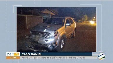 Polícia Civil pede quebra do sigilo telefônico de mulher suspeita de causar acidente - Polícia Civil pede quebra do sigilo telefônico de Lidiane Campos, suspeita de causar acidente que matou criança