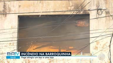 Destaques do dia: Bar e loja pegam fogo no final de linha da Barroquinha, em Salvador - O incêndio aconteceu na tarde desta quinta-feira (7). Confira este e outros destaques.