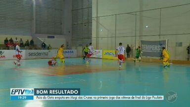 Pulo do Gato consegue bom resultado em primeiro jogo das oitavas de final da Liga Paulista - Time de futsal volta a campo nesta sexta-feira (8), no Ginásio Rogê Ferreira.