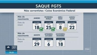 Saque do FGTS para quem nasceu em abril ou maio começa nesta sexta (8) - Saque do FGTS para quem nasceu em abril ou maio começa nesta sexta (8)