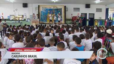 Semana de arte movimenta escolas municipais em São José - Veja a reportagem.