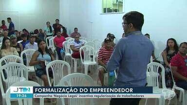 Campanha 'negócio legal' incentiva regularização de trabalhadores em Santarém - A estimativa é que a campanha consiga atender 1000 empreendedores.