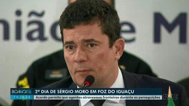 Ministro da Justiça, Sérgio Moro, se reúne com ministros de países do Mercosul - O ministros assinaram acordo que permite que agentes de segurança possam atravessar fronteiras durante perseguições.