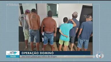 Seis pessoas são presas por tráfico de drogas em Guaraí - Seis pessoas são presas por tráfico de drogas em Guaraí