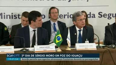 Acordo permite que policiais cruzem as fronteiras durante perseguições - Anúncio do acordo entre os países do Mercosul foi feito nesta quinta-feira (07) pelo ministro da Justiça, Sérgio Moro.