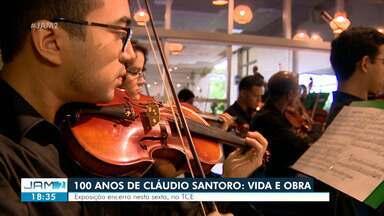 Exposição aborda 100 anos da vida e obra de Cláudio Santoro - Programação encerra nesta sexta-feira (7).