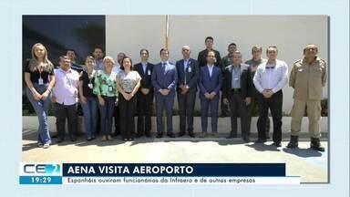 Nova gestora do aeroporto de Juazeiro do Norte faz reunião com funcionários da Infraero - Confira mais notícias em g1.globo.com/ce