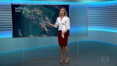 Veja como fica o tempo nesta sexta (8) - Tem alerta de temporal para quatro das cinco regiões.