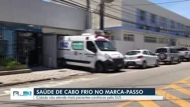 Pacientes cardíacos não estão sendo mais atendidos pelo SUS em Cabo Frio, no RJ - O único hospital credenciado pelo SUS que fazia cirurgias e exames cardiovasculares está interditado pela vigilância sanitária estadual.
