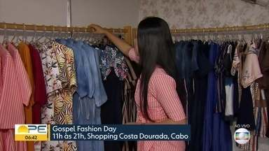 Cabo de Santo Agostinho recebe feira de moda gospel - Moda evangélica movimenta cerca de R$ 21 bilhões por ano, segundo Abrepe.