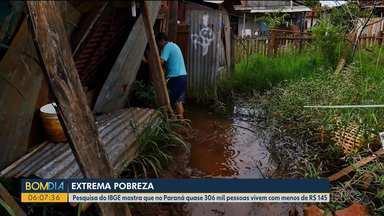 Desemprego e crise econômica faz aumentar pessoas em situação de pobreza - Número de pessoas que vive com menos de 145 reais por mês no Paraná aumentou nos últimos anos.