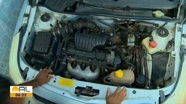 Número de carros que pegaram fogo sobe em Alagoas - Dados são do Corpo de Bombeiros.
