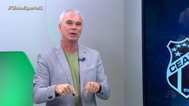 Maurício Saraiva fala sobre a situação atual do Inter após derrota para o Ceará - Assista ao vídeo.