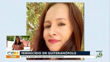 Feminicídio em Quiterianópolis; tentativa de homicídio em Lavras da Mangabeira - Saiba mais no g1.com.br/ce