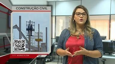 G1 no JAC 1ª: Preço da construção civil continua entre os mais caros do país - G1 no JAC 1ª: Preço da construção civil continua entre os mais caros do país